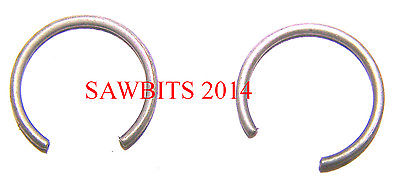 PISTON CIRCLIP/ SNAP RING 1 PAIR FOR 10MM PIN FIT STIHL  SEE LISTING FOR MODELS